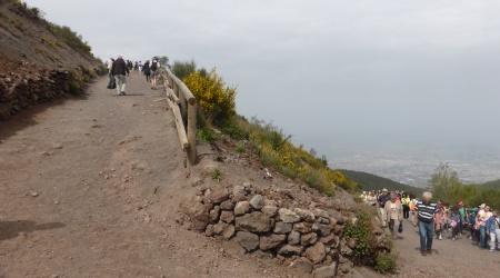 Aufstieg zum Vesuv