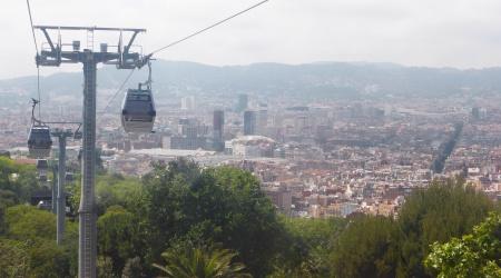 Seilbahn auf den Montjuïc