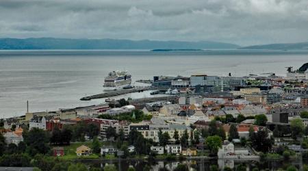 Ausblick auf Trondheim
