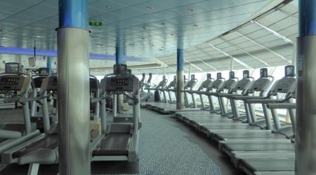 Fitness Studio mit Meerblick