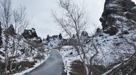 Lavafelder Dimmuborgir